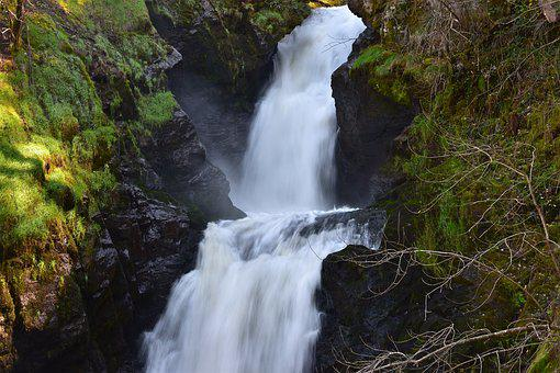 Cascade, Water, Nature, Landscape, River, Flow, Wet