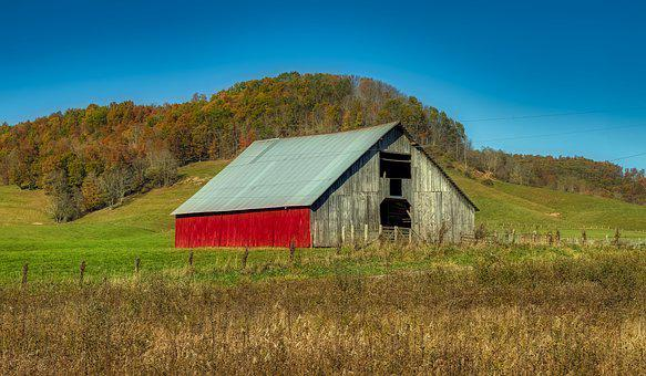 West Virginia, Autumn, Fall, Panorama, Landscape, Hills