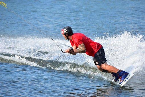 Wakeboard, Aquatics, Action
