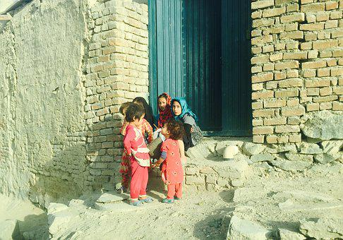 Kabul, Children, Poverty, Afghanistan