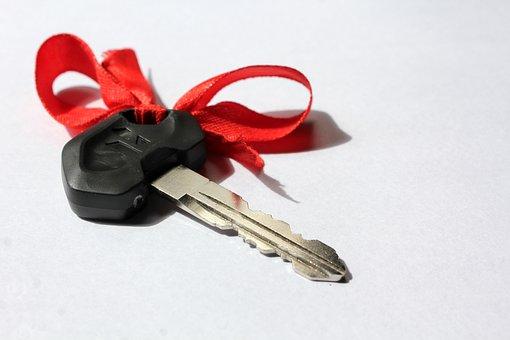 Key, Scooter, Hero, Gift, New, Bike, Present