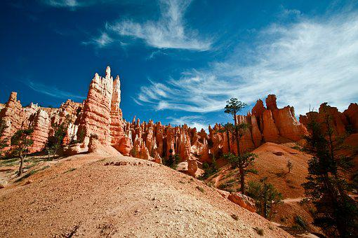 Landscape, Usa, Bryce Canyon, Immensity, America
