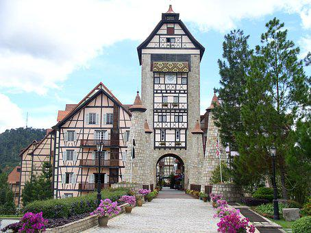 French Village Style Resort, Bukit Tinggi, Pahang