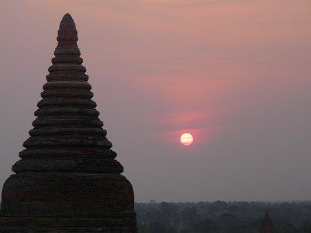 Temple, Myanmar, Burma, Bagan, Buddhism, Travel