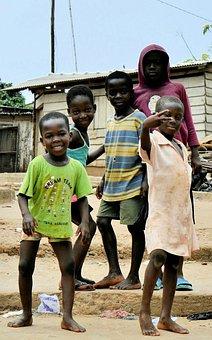 Senya Beraku, Ghana, Africa, West Africa, Children