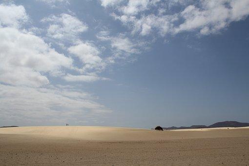 Dunes, Cloud, Sun Fuerteventura, Sand, Landscape