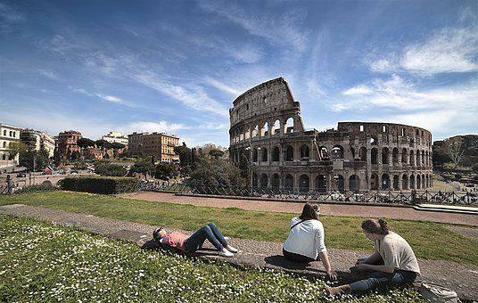 Colosseum, Holidays, Ancient, Rome, Ancient Rome