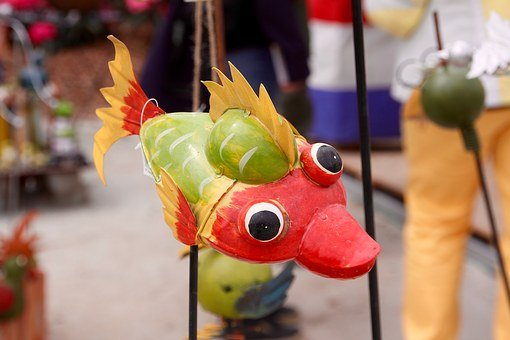Fish, Fish Eye, Decoration, Deco, Goggle, Scale
