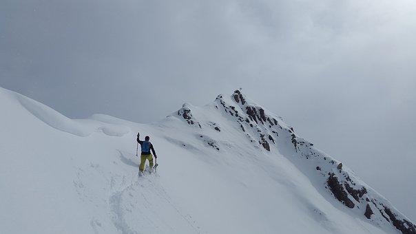 Backcountry Skiiing, Allgäu, Summit, Elfer Ostgipfel