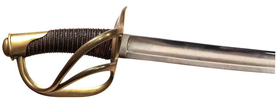 Sea sword, Hilt, Garda, Handle, Blade, Officer