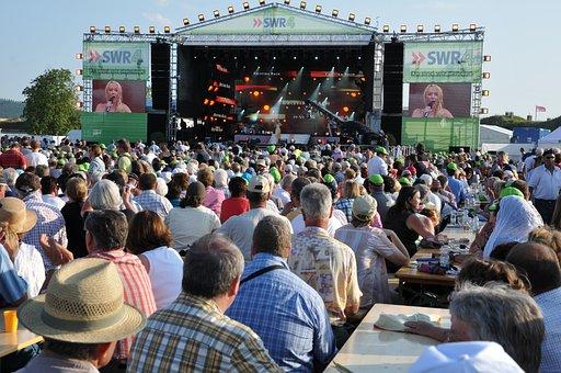 Garden Show, Summer, Koblenz, Scene, Concert, Fectival