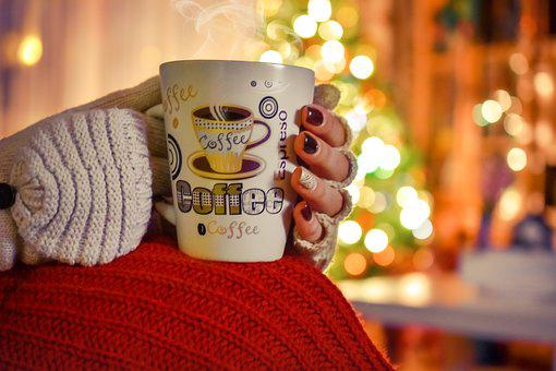 Coffe, Winter, Cold, Hot, Drink, Cup, Relax, Girl, Tea
