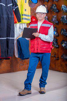 Helmet, Industrial, Security, Logistic, Work Clothes