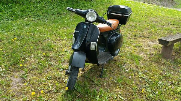Vespa, Roller, Italy, Motorcycle, Motor Scooter, Drive