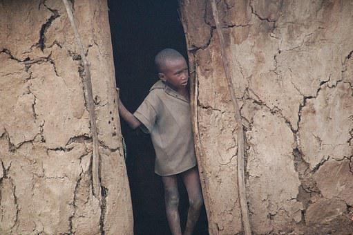 Kenya, Village, Boy, Africa, The Local People, Poverty