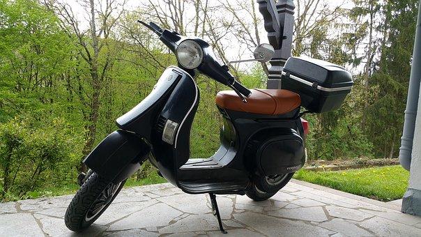 Vespa, Piaggo, Cult, Roller, Motor Scooter, Locomotion