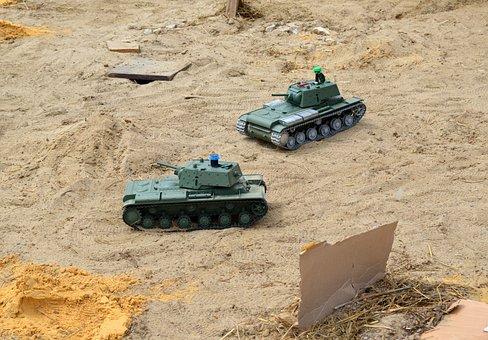 Tank Model, Tank Battle, Toy Fight, Managed Models