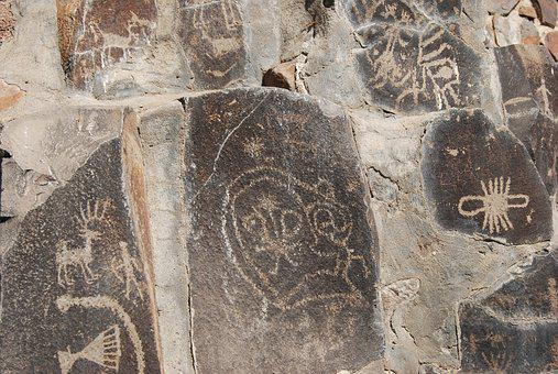 Petroglyph, Image, Scratches, Notching, Native American