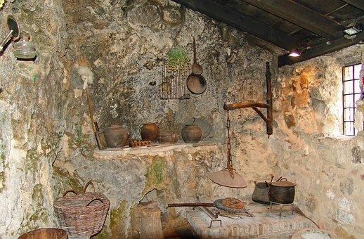 Croatia, Farmer Kitchen, Old, Formerly, Nostalgia