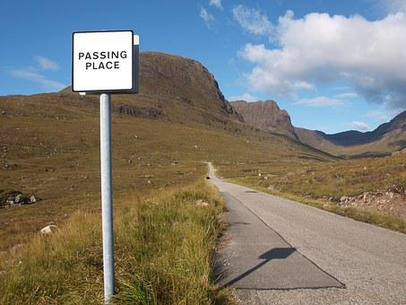 Road, Bealach Na Ba, Pass, Applecross, Scotland