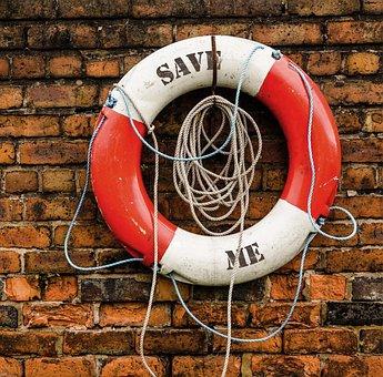 Life Saving Swimming Tube, Save Me, Helping Hands, Save