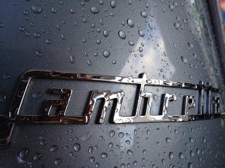 Scooter, Lambretta 125, Logo, Drops, Rain