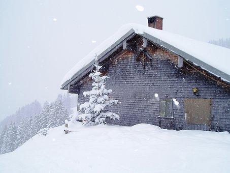 Winter, Snow, White, Snowy, Winter Dream, Hut