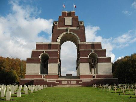 Somme, Thiepval, Memorial, Wwi, First World War