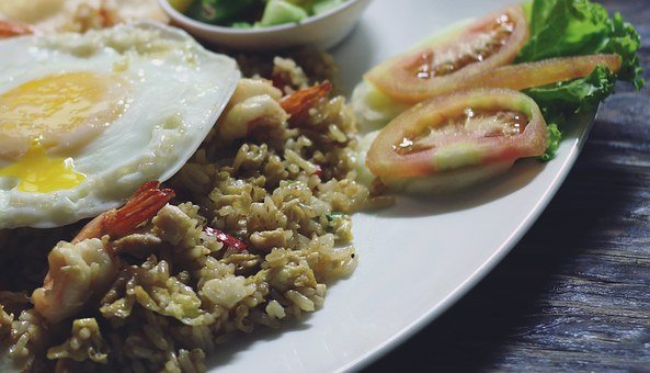 Fried Rice, Special Fried Rice, Food, Asian, Fried