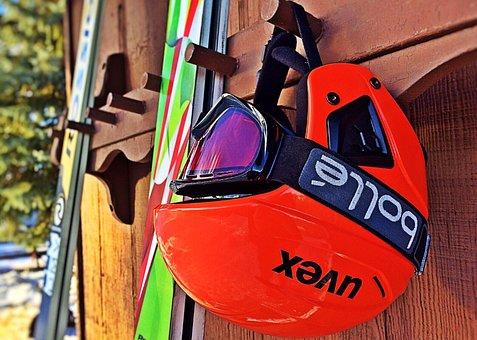 Ski, Helmet, Winter, Sport, Goggles