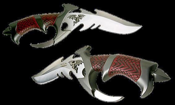 Knife, Decorative, Battle, Steel Arms, Blade, Handle