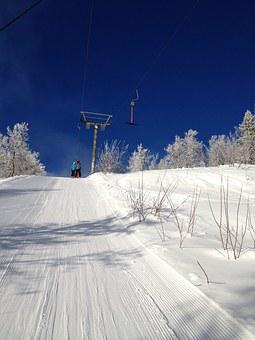 Winter, Swedish Mountain, Tärnaby, Real Mountains