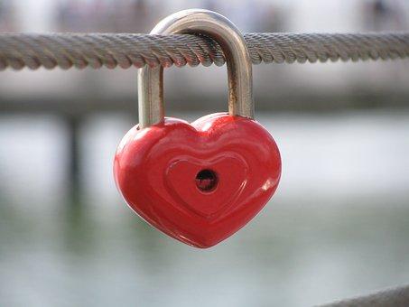 Love Lock, Heart, Switzerland, Symbol, Relationship