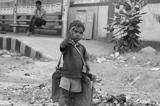 Child, Dirty, Boy, Poverty, Street, Unemployment