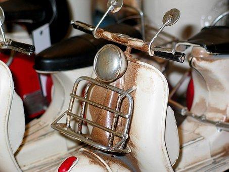 Motor Scooter, Roller, Vehicle, Motorcycle, Vespa
