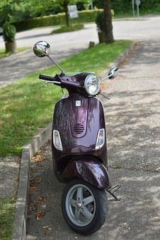 Vespa, Roller, Vehicle, Motor Scooter, Motorcycle
