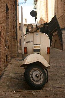 Wasp, Vintage, Piaggio, Scooter, Borgo