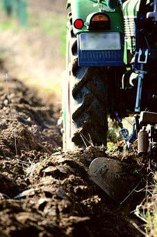 Arable, Ackerfurchen, Agriculture, Plow, Tractor, Field