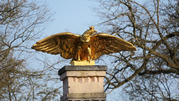 Adler, Statue, Monument, Sculpture, Bird, Bronze, Metal