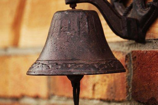 Bell, Garden Bells, Clinker, Garden Shed, Decoration
