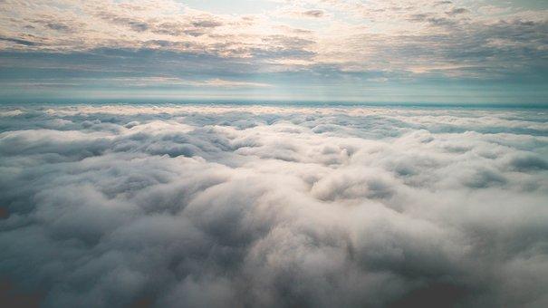 Sky, Blue, Clouds, Nature, Landscape, Summer, Sunset