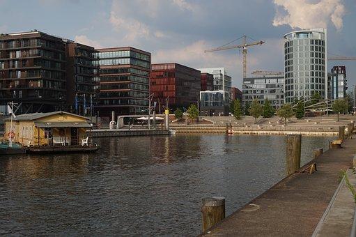 Architecture, Port, Building, City, Cityscape