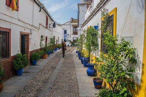 Cordoba, Andalusia, City, Flowers, Gardens