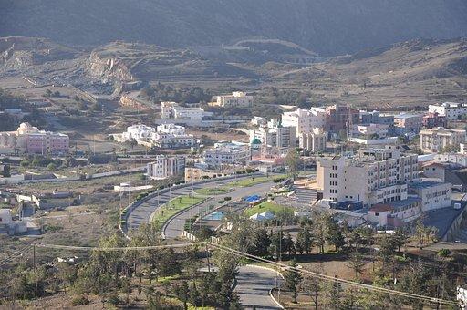 Street, City, Albaha, Homes, Houses, Nice, View