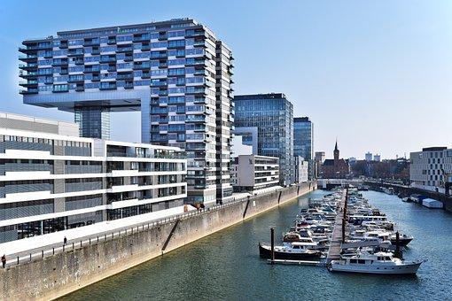 Architecture, Port, Water, Building, City, Skyline