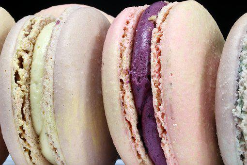 Macaroon, Confectionery, Dessert, Food, Colorful
