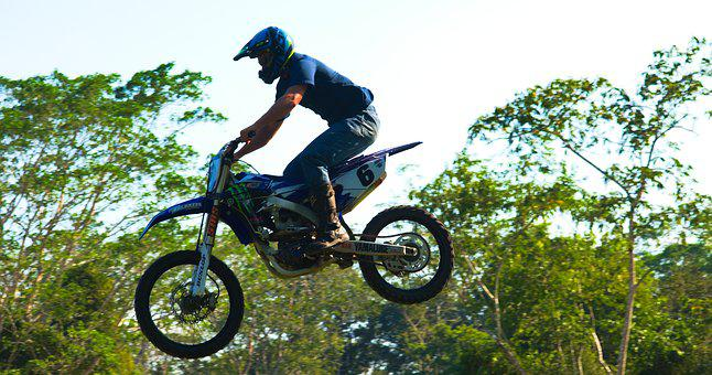 Motocross, Jump, Airborne, Dirtbike, Speed, Race, Epic