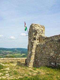 Castle, Ruin, Burgruine, Middle Ages, Fortress, Old