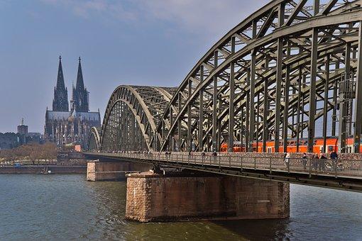 Architecture, Cologne, City, Rhine, Dom, Landmark