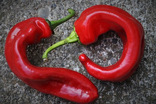 Red Pepper, Para, Components, Eat, Food, Vegetables